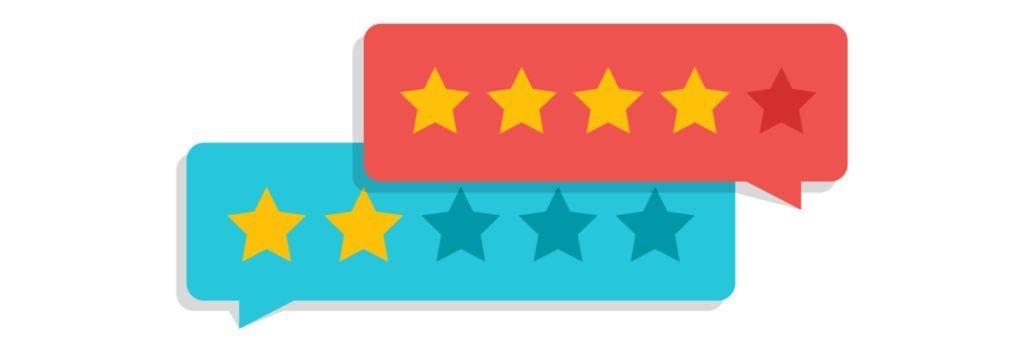 How we rate star bubble