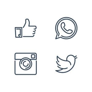 Contact Us - Social Media Icons